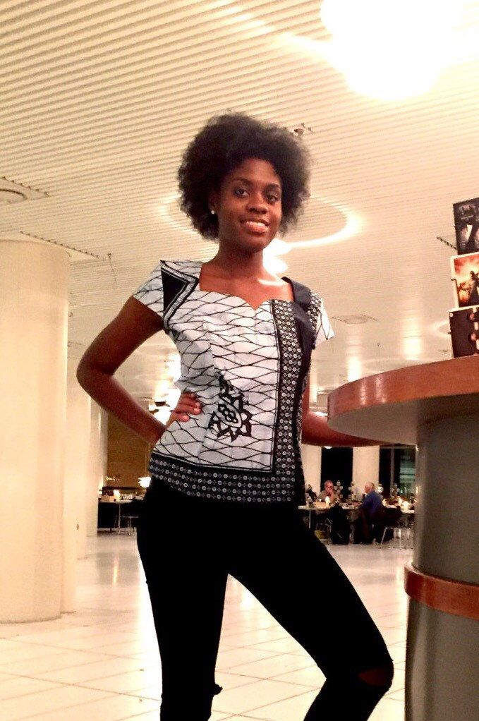 A personal favourite from my Etsy shop https://www.etsy.com/dk-en/listing/235927826/african-print-blouse-top-wax-ankara