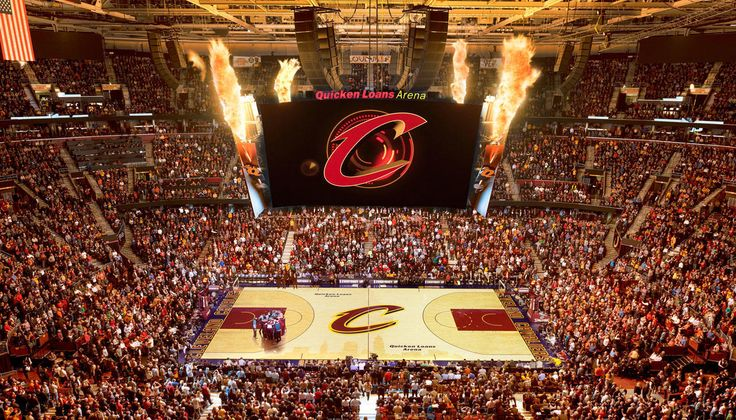 When the NBA Cleveland Cavaliers plays a home game, crowds pile into Downtown's Quicken Loans Arena.