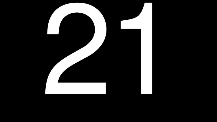 images of numbers 21 n...