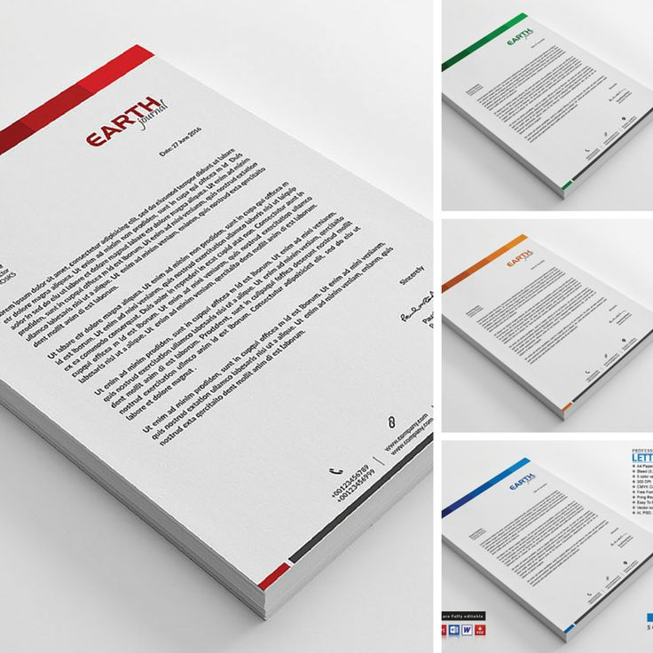 Best Letterhead Templates Images On   Letterhead