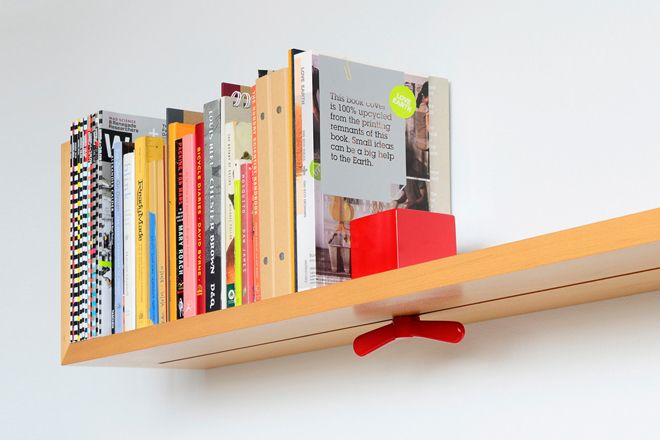 bookshelf with built in book end designed by hold on tight on wall mount bookshelf id=85000