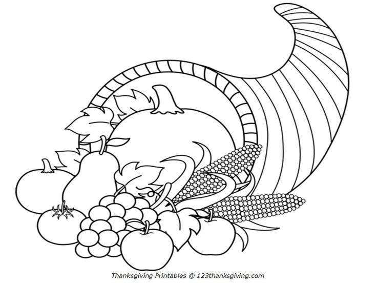 thanksgiving 2013 | Thanksgiving Coloring Pages for Kids ...