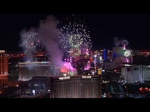 2015 Fireworks: Las Vegas, America (New Year Fireworks)