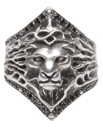 Lion ring from Roman Paul