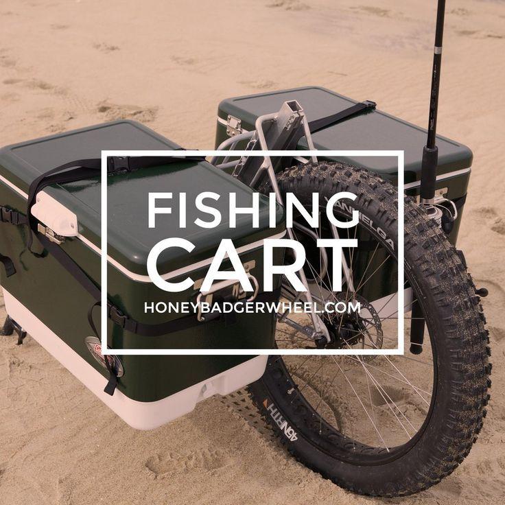 Honey Badger Wheel | Fishing Cart for the Beach, Surf, and Pier