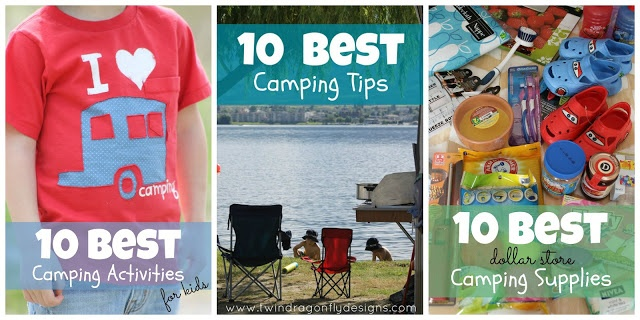 ~ 10 Best Camping Recipes