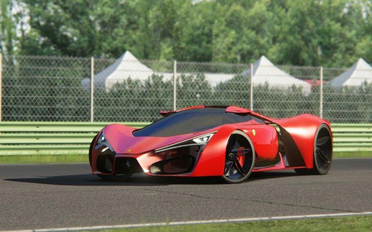 assetto corsa ferrari f80 concept at circuit vallelunga