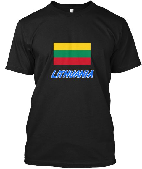 Lithuania Flag Artistic Blue Design Black T-Shirt Front - This is the perfect gift for someone who loves Lithuania. Thank you for visiting my page (Related terms: I Heart Lithuania,Lithuania,Lithuanian,Lithuania Travel,I Love My Country,Lithuania Flag, Lithuania  #Lithuania, #Lithuaniashirts...)