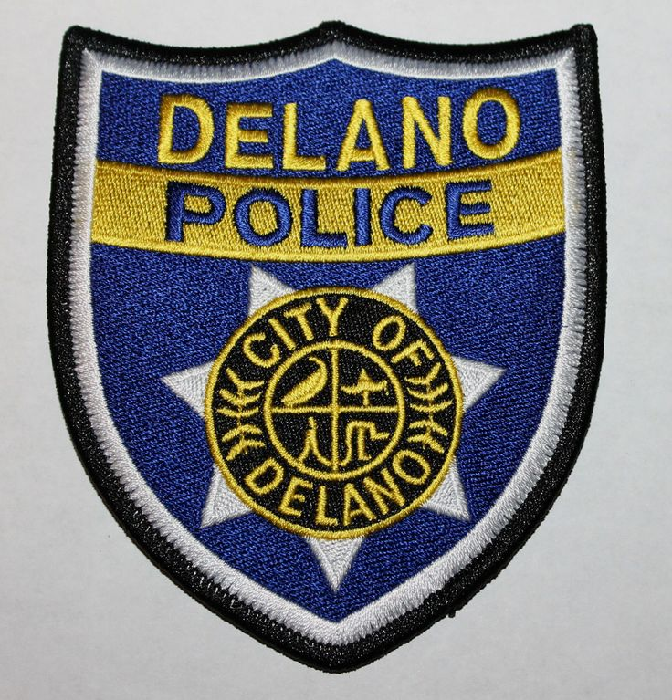 CITY OF DELANO POLICE Kern County California CA PD patch • $5.84 - PicClick