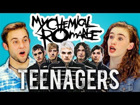 MY CHEMICAL ROMANCE - TEENAGERS (REACT: Lyric Breakdown) - YouTube