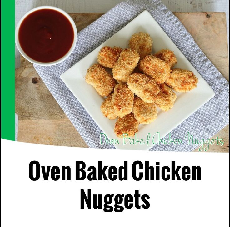 {Thermomix} Oven Baked Chicken Nuggets