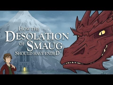 How 'The Hobbit: The Desolation of Smaug' Should Have Ended | 8 Bit Nerds