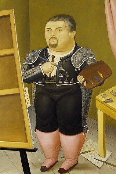 Fernando Botero - Otoportre