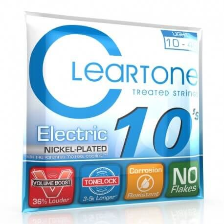 ClearTone Electric Nickel Plated Light 10 46
