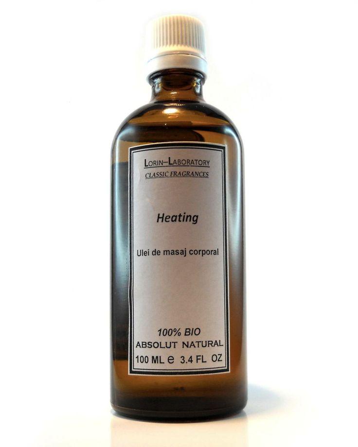 Produse cosmetice personalizate mai multe detalii pe www.lorinlab.com ulei corporal unisex Ulei Heating