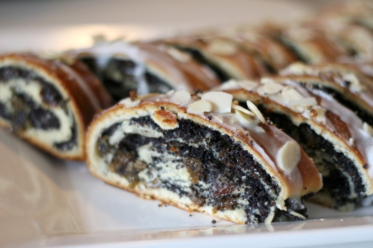 Polish Coffee Cake With Poppy Seed Filling