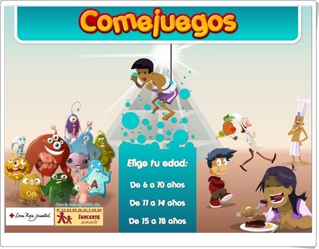 """""""Comejuegos"""" (Juegos de Alimentación de Primaria y Secundaria)"""