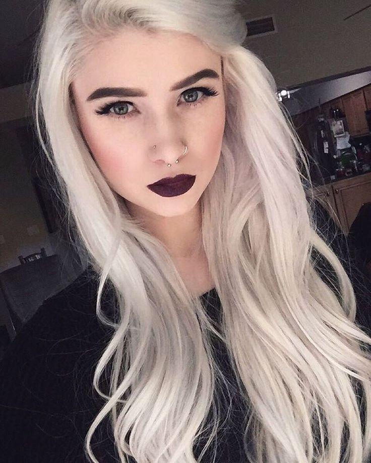 Vampire Platinum: Best 25+ Blonde Goth Ideas On Pinterest
