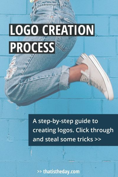 How does a designer go about creating a logo? 7 steps to creating a logo for your business. Let's take a look at the logo creation process so you can copy it for your needs >> thatistheday.com