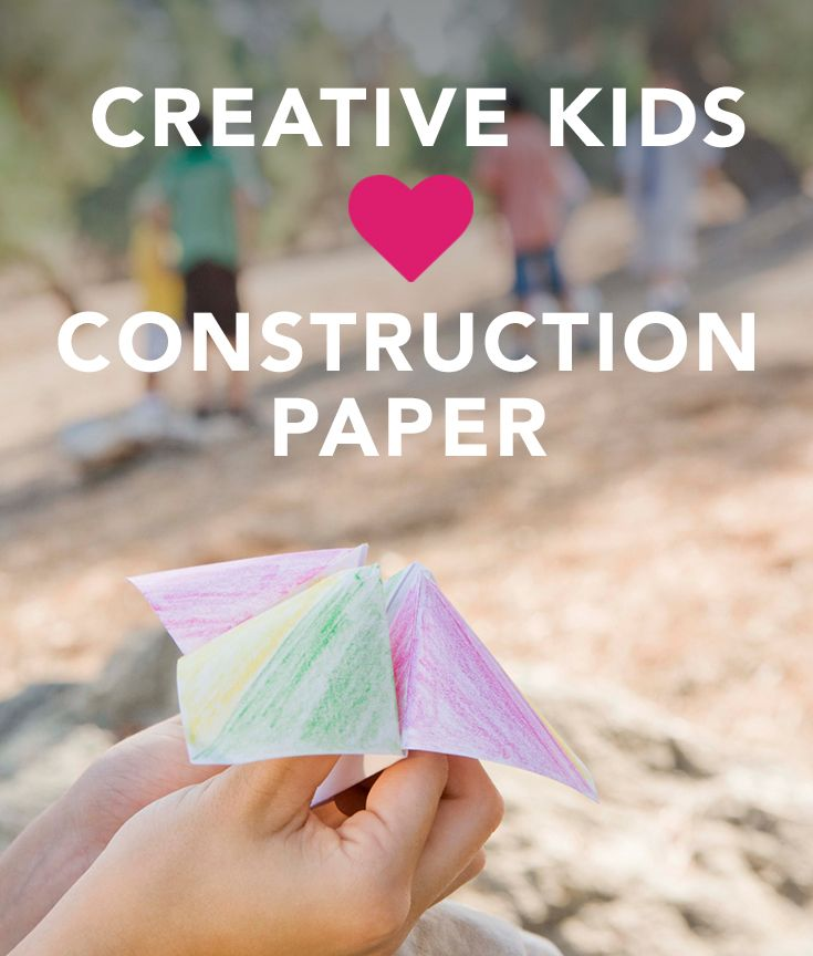 17 Easy Construction Paper Crafts That Any
