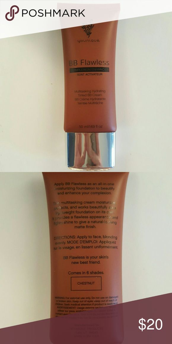Younique BB Cream in chestnut Brand new still in box. Can be used as a bb cream foundation or to contour. younique Makeup Foundation