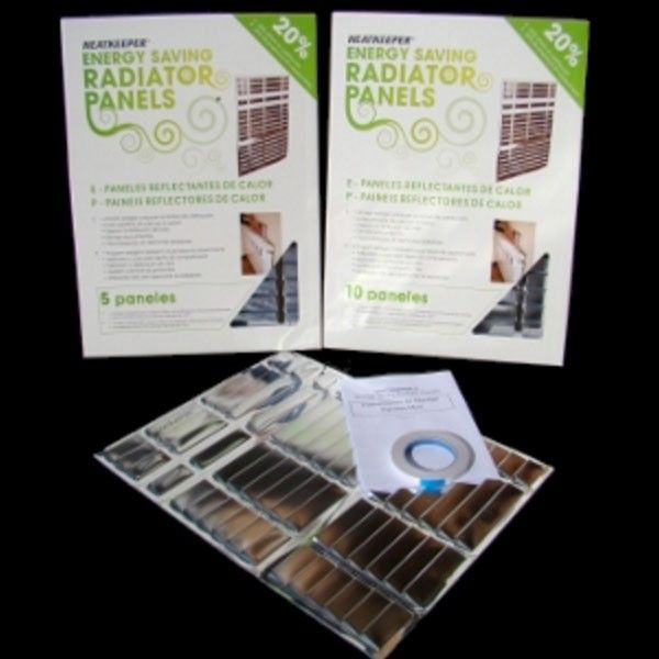 Paneles Reflectantes de Calor Heatkeepper Pack de 5 o 10 unidades