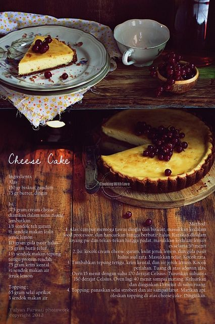 cheese cake (recipe)