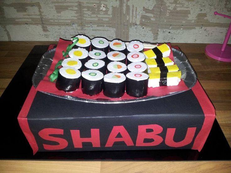 Voor iemand die dol op sushi is! :-)