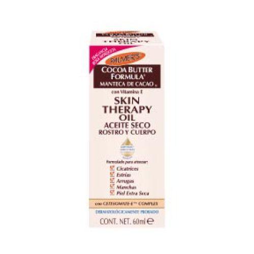 Palmer´S Oil palmers cacao rosa mosqueta 60ml Aceite ligero y de rápida absorción para pieles secas. su fórmula exclusiva ayuda a mejorar la apariencia de cicatrices, arrugas, manchas y piel seca.