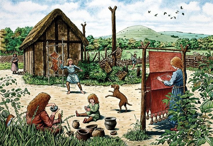 a life of anglo saxon Center of anglo-saxon culture and life stories, songs, food and drink were shared there.