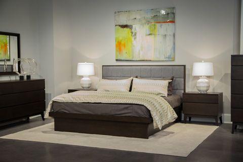 West Bros - Serra Collection Queen Upholstered Bedroom Set - 78827BRSET