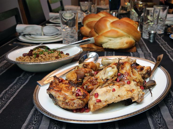 how to do rosh hashanah dinner