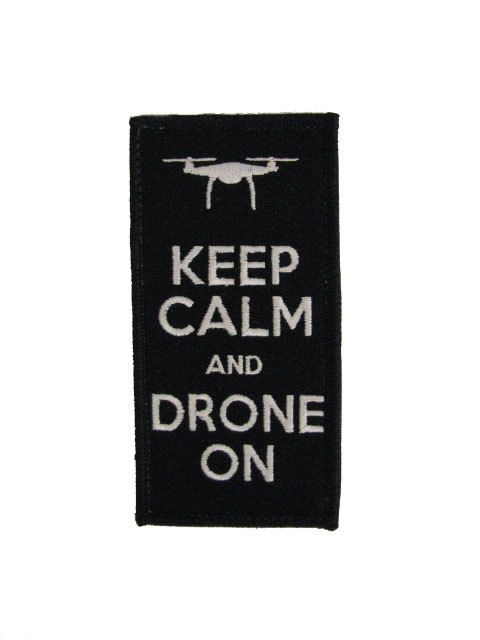 DJI Phantom Inspire Pilot RC Radio Control Quad Copter Helicopter Patch Badge Velcro Keep Calm And Drone On by MilitaryMahogany on Etsy