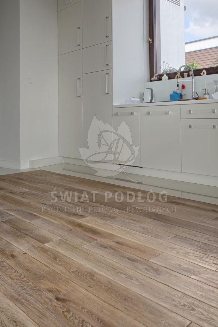 Podłoga drewniana Dąb Osmo Świat Podłóg, Warszawa, Bartycka #modern #floor #natural #warszawa #bartycka http://www.swiatpodlog.com.pl/