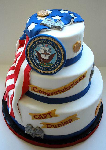 Birthday Cake Coast Guard