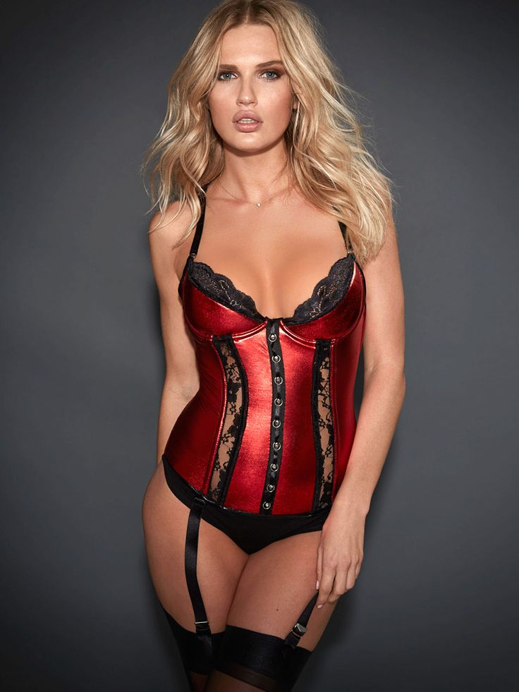 Victoria's Secret: New Runaway Romance Corset. Redy sexy corset. See more sexy corsets >>>  http://justbestylish.com/9-sexy-corsets-you-should-buy/