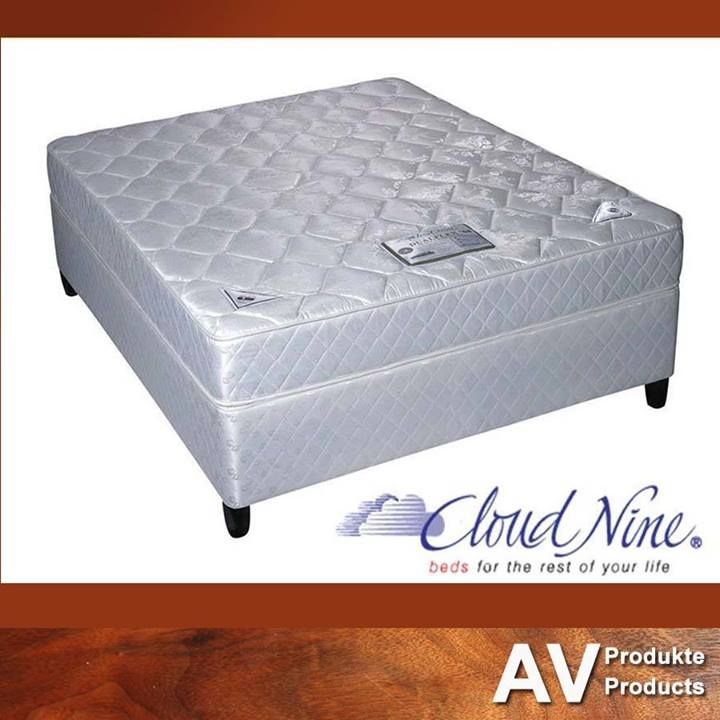 AV Produkte / AV Products stock a wide range of Cloud Nine #mattresses and base sets - something to suit each and every individual. Excellent #quality at affordable prices! Contact our sales team on 044 874 6434 for more information