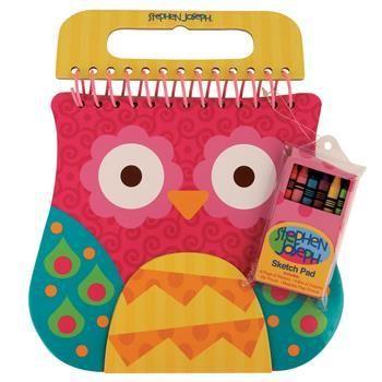 Owl Sketch Pad