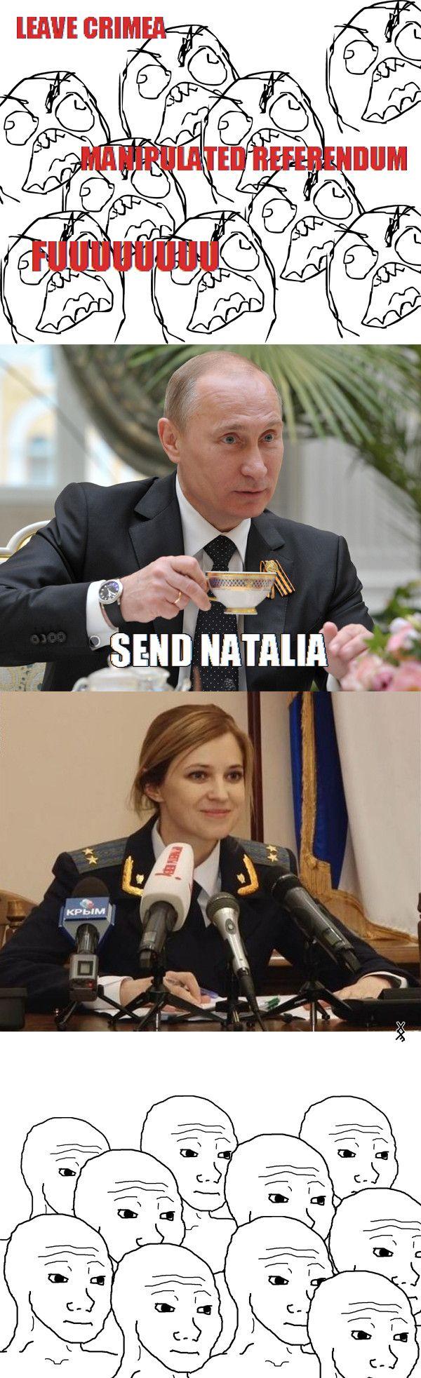 Comedy Natalka07 Crazy Russian Woman
