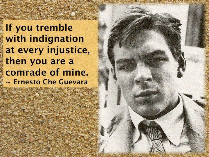 """*....""""Che was the most complete human being of our age....""""        - Jean-Paul Sartre, as quoted in the trailer for the film Motorcyle Diaries (2004)*"""