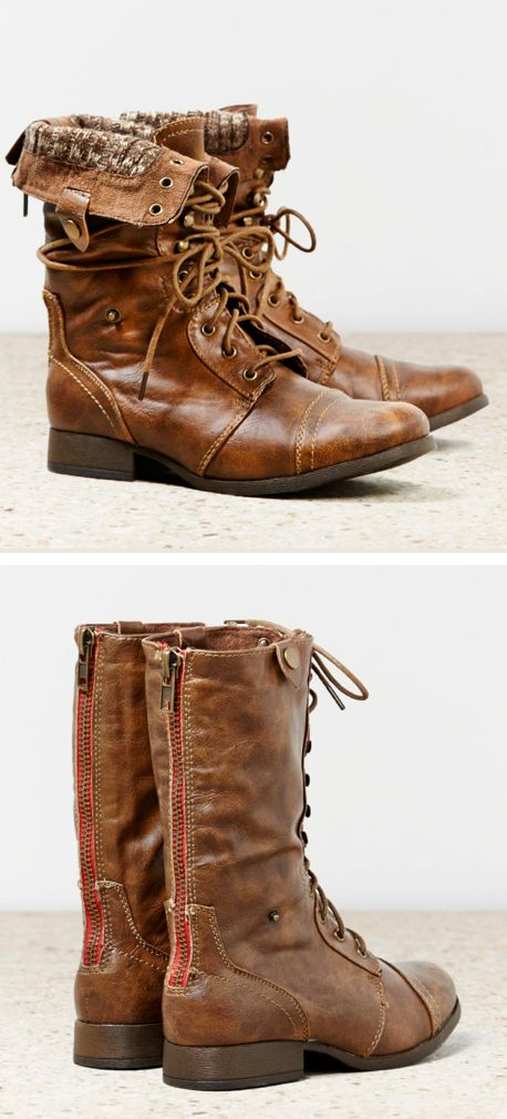 Foldover boots