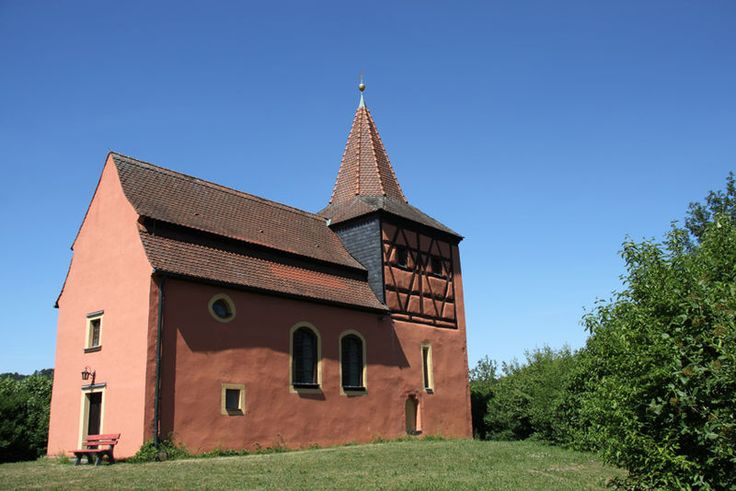 Burghaslach-Kirchrimbach, Alte Evan.Luth.Pfarrkirche St. Mauritius (sog. Schiestl-Kirche)