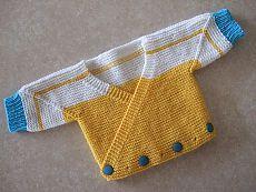 Ravelry: Surplice Baby Jacket WG50 SO43 pattern by Elizabeth Zimmermann