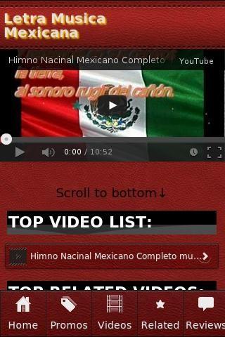"""<b>Letra Musica Mexicana</b><br>The unofficial Letra Musica Mexicana app.<p><b>Letra Musica Mexicana</b><br>• Vicente fernandez-Sigo siendo el rey con ♫Letra!!! ♫♪Musica Mexicana!<br>• La Adelita. Con letra y música.<br>• RBD-Soy Rebelde (Letra)<br>• La Cucaracha - (revolución mexicana) - Letra<br>• Himno Nacional Mexicano (Musica y Letra) """"Completo""""<br>• Cielito Lindo - Mariachi Real - viva Mexico<br>• Himno Nacional Mexicano con Letra<br>• Himno Nacional Mexicano Completo Letra<br>• Himno…"""