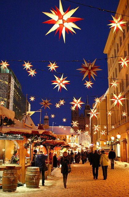Magdeburg-Germany  It's been a dear dream of mine for some time now to travel through Germany at Christmastime and see all its wonderful Christmas markets!