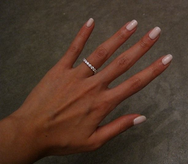 how to wear an eternity ring on finger