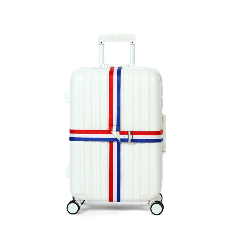 Country Flag Travel Luggage Strap Lengthened Trolley Suitcase Adjustable Security Bag Belt Parts Accessories Supplies Products