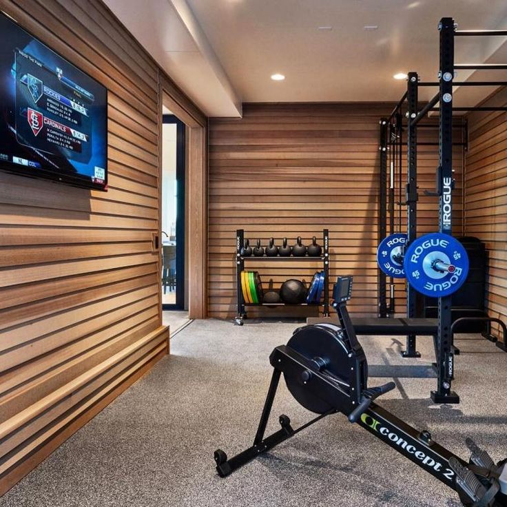 Home Gym Design Ideas Basement: 20 Home Gym Ideas For Designing The Ultimate Workout Room