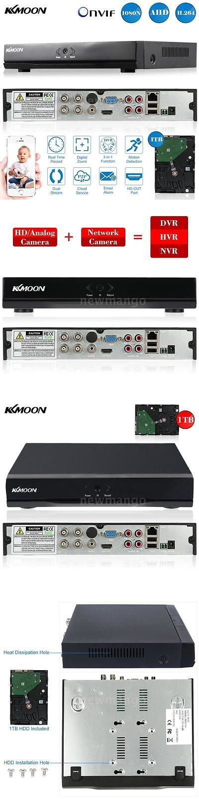 Digital Video Recorders Cards: 4Ch Ahd Channel 1080N H.264 Home Cctv Dvr Video Recorder With 1Tb Hard Disk Us -> BUY IT NOW ONLY: $75.99 on eBay!
