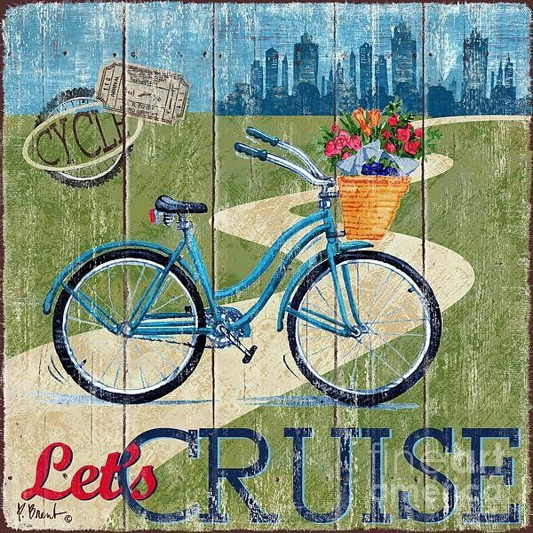Country Cruisers I Art Print